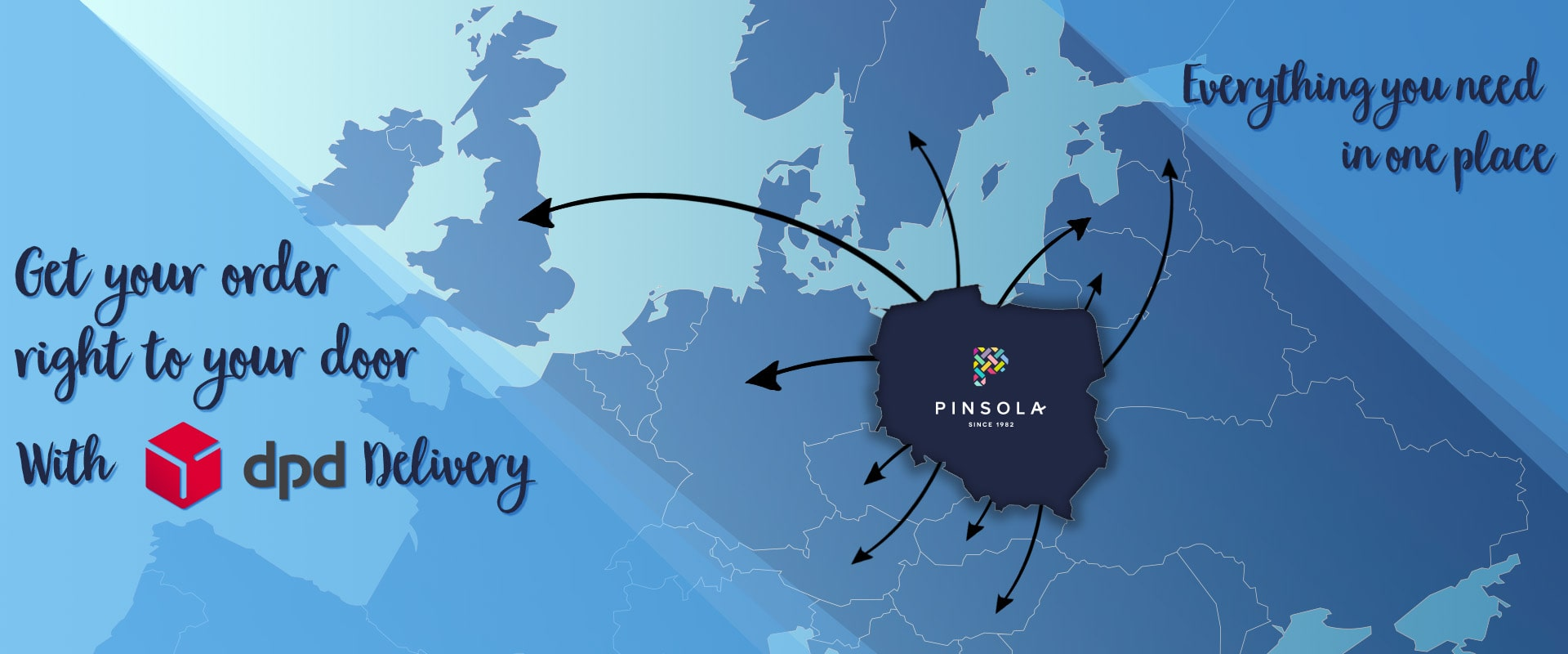 DPD shipping in pinsola - fast and reliable