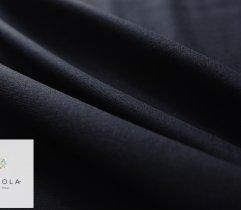 Dresówka pętelka czarna z elastanem premium
