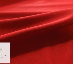 Dresówka pętelka czerwona z elastanem premium