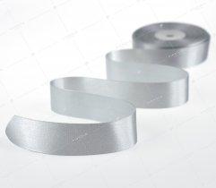 Wstążka atłasowa 25 mm szara (522)
