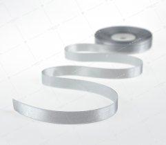 Wstążka atłasowa 12,5 mm szara (544)