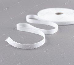 Taśma bawełniana 10 mm biała jodełka (178)