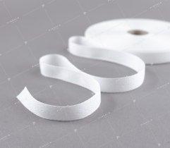 Taśma bawełniana 15 mm biała jodełka (180)