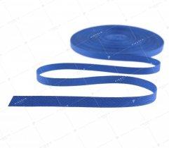 Taśma bawełniana 10 mm royal blue jodełka (1059)