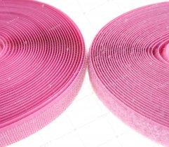 Rzep - haczyk i pętelka - różowy - 20 mm (1078)