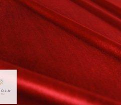 Welur elastyczny rubin