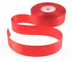 Wstążka atłasowa czerwona 25 mm (526)