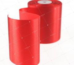 Wstążka atłasowa czerwona 100 mm (517)