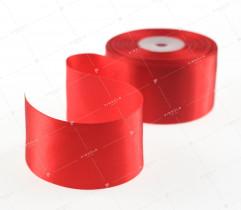 Wstążka atłasowa czerwona 50 mm (529)