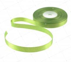 Wstążka atłasowa zielona 12,5 mm (537)