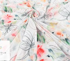 Silki wiosenna abstrakcja