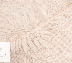 Plen - stable lace, powder pink leaves