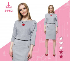 Ewa dress 34-52 A4 file