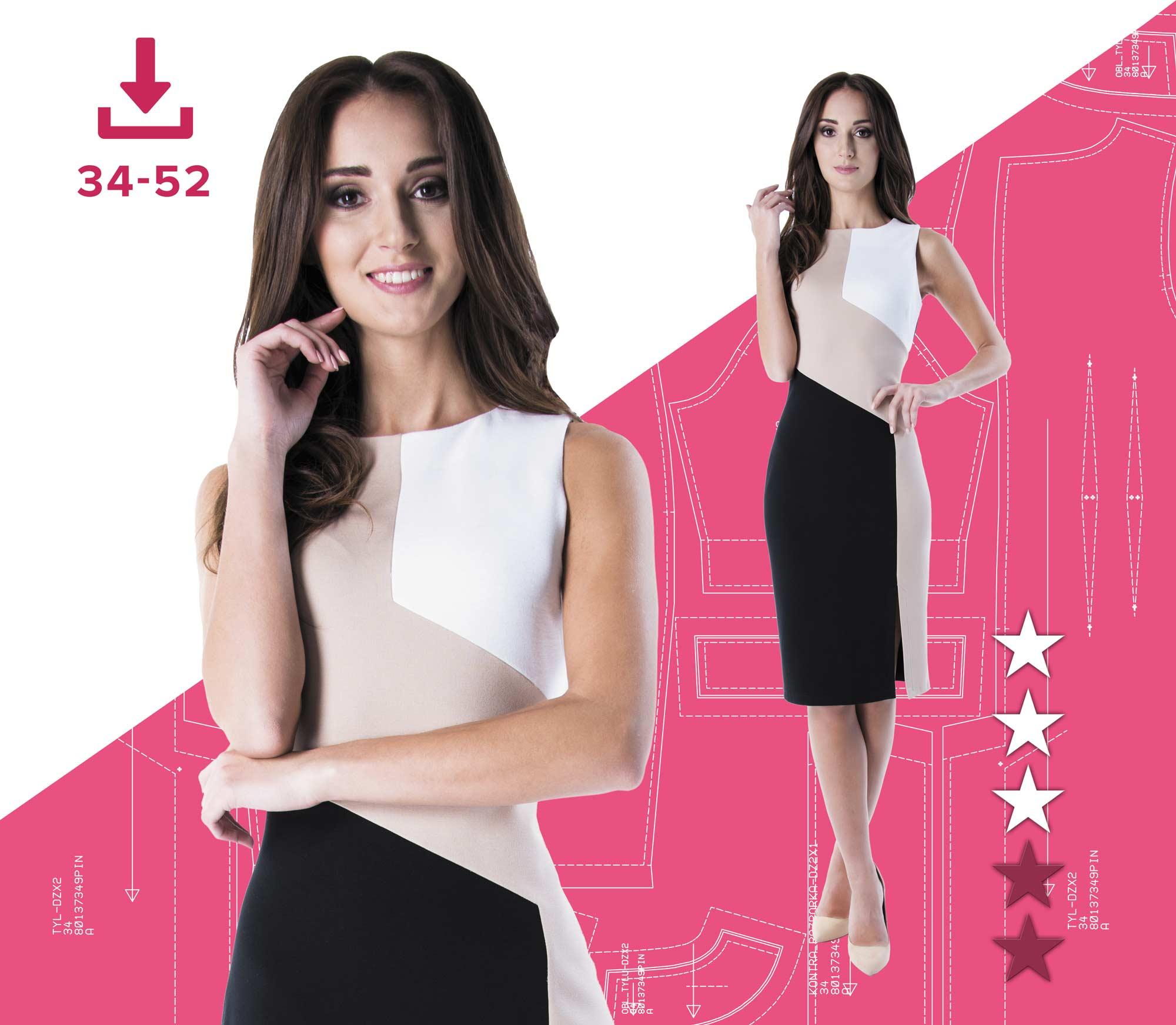 3e893ac6 Sukienka ANGELIKA 34-52 (80137356) plik A4 | Pinsola