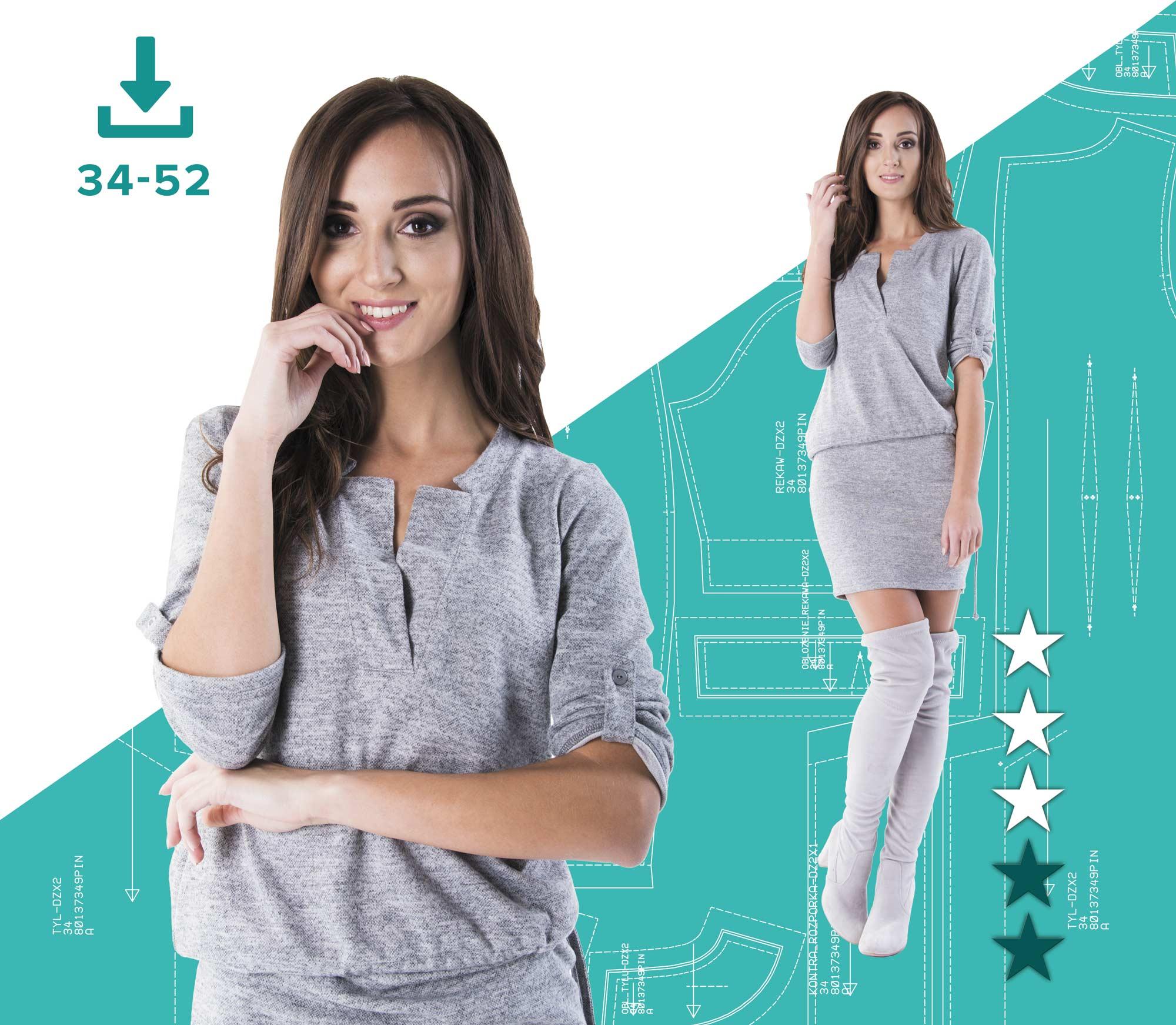 48a46235 Sukienka ANIA 34-52 (80138301) plik A4 | Pinsola