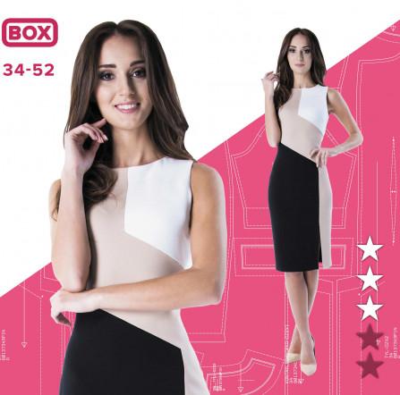 422e7c961d Sukienka Angelika 34-52 wydruk wielkoformatowy i surowce