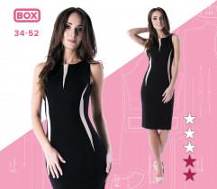 Wykrój sukienki Alicja 34-52 wydruk wielkoformatowy i surowce