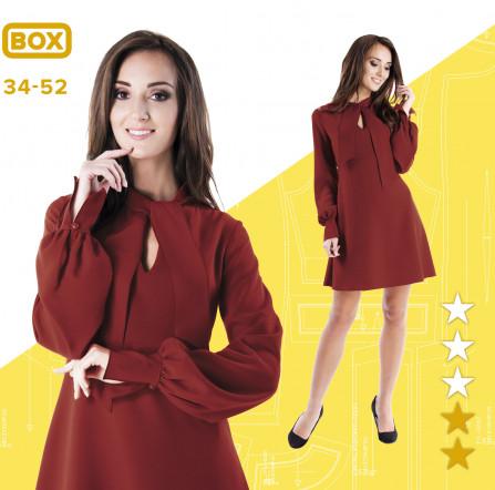 d716b0f3 Sukienka Martyna 34-52 wydruk wielkoformatowy i surowce | Pinsola