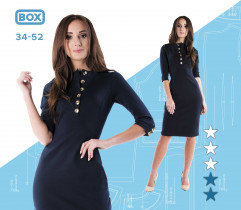 Wykrój sukienki Monika 34-52 wydruk wielkoformatowy i surowce
