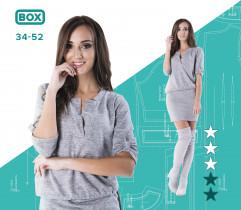 Wykrój sukienki Ania 34-52 wydruk wielkoformatowy i surowce