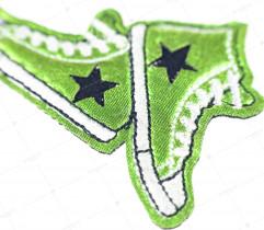 Naprasowanka tenisówki zielone (2169)