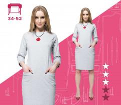 Wykrój sukienki Gris 34-52 wydruk wielkoformatowy