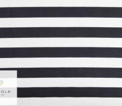 Punto nylon pasy czarno-białe 2 cm