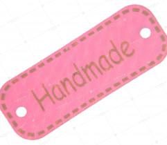 Przywieszka eko skóra 'handmade' (2231)