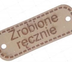 Aplikacja eko skóra zrobione ręcznie (2230)