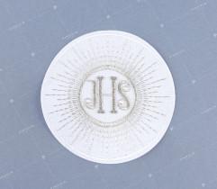 Emblemat hostia komunijna srebrna