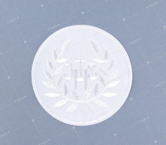 Emblemat hostia komunijna biała