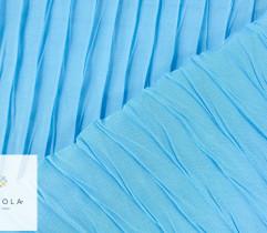 Tkanina plisowana szyfon morski