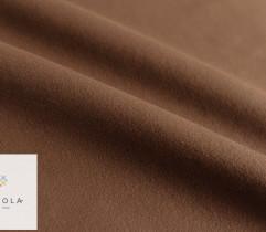 Aksamit bawełniany brązowy