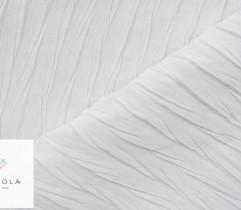 Tkanina plisowana szyfon biały