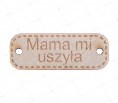 Przywieszka drewniana 'mama' (2176)