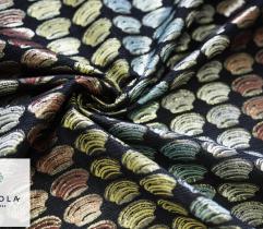 Żakard kolorowe muszelki
