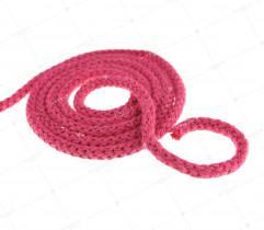 Sznurek bawełniany różowy 5 mm (412)