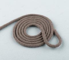 Sznurek bawełniany beżowy 5 mm (411)