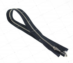 Metal separating zipper - 5