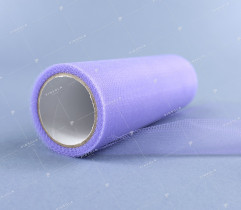 Tulle on a spool, lilac 15 cm x 9 m (1849)