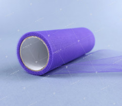 Tulle on a spool, lilac 15 cm x 9 m (1850)