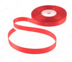 Wstążka atłasowa czerwony 12,5 mm (534)