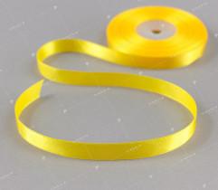 Wstążka atłasowa żółty 12,5 mm (536)