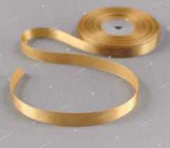Wstążka atłasowa złoty 12,5 mm (538)