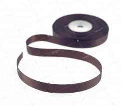 Wstążka atłasowa ciemny brąz 12,5 mm (539)
