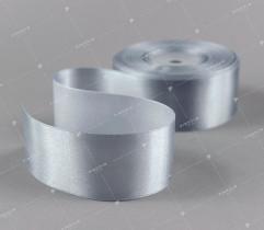 Wstążka atłasowa szara 38 mm (501)