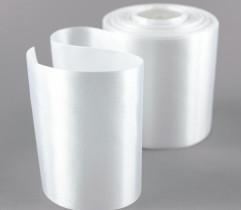 Wstążka atłasowa biała 100 mm (402)