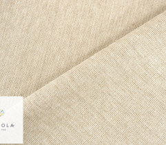 Ściągacz bawełniany jasny beż melange 80 cm