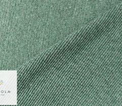 Ściągacz bawełniany melanż zielony 90 CM