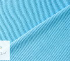 Ściągacz bawełniany błękit prążek 100 cm